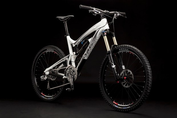 Santa Cruz's new Nomad-c, in white.