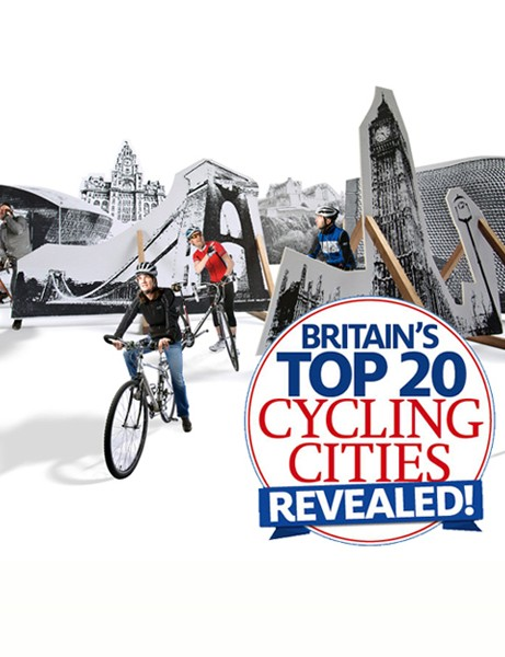 Cycling Plus magazine have revealed Britain's best cycling cities