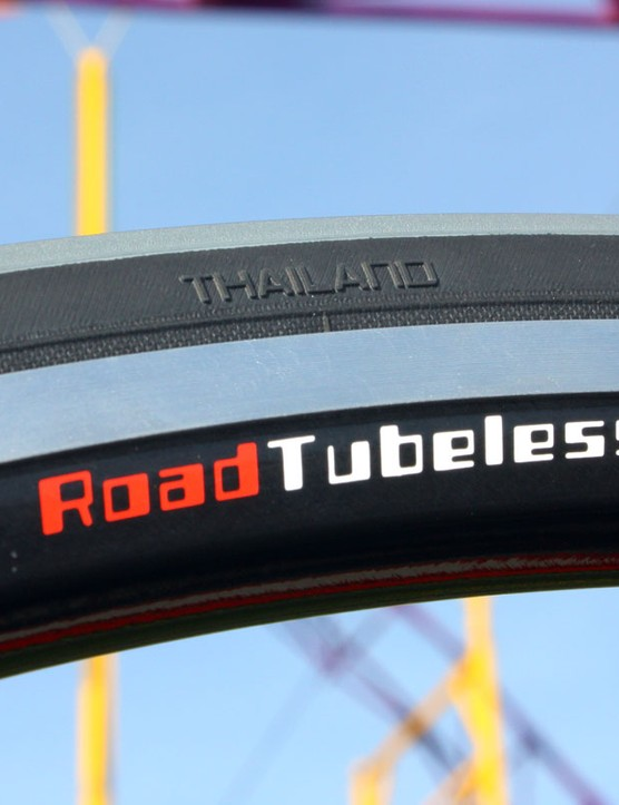 Pro-level tyres are made in Thailand