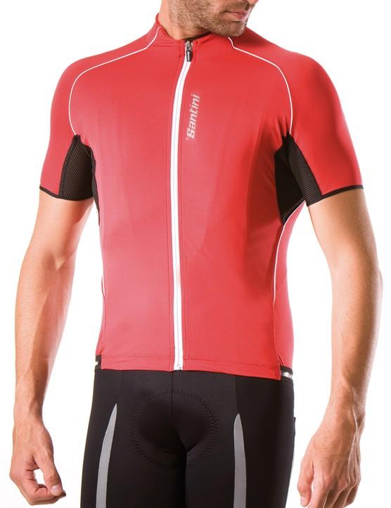 Santini Biolite jersey and bib shorts