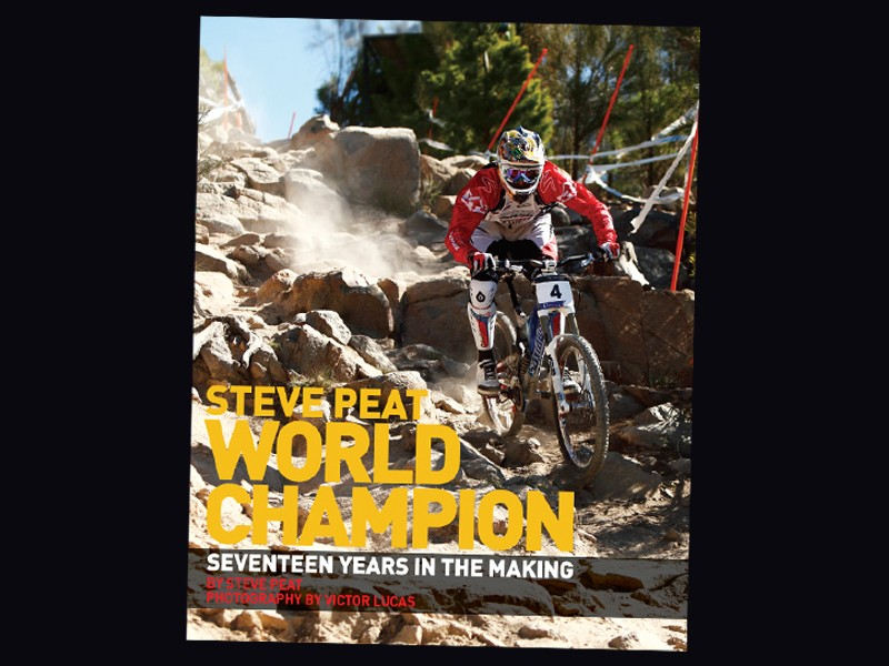 Steve Peat has released a book that gives an insight into his 2009 World Championship winning season