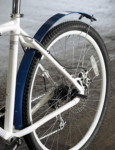 Disc brakes, mudguards and rack mounts
