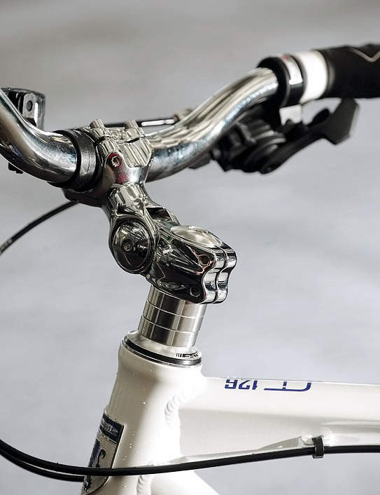 Adjustable stem helps get your position right