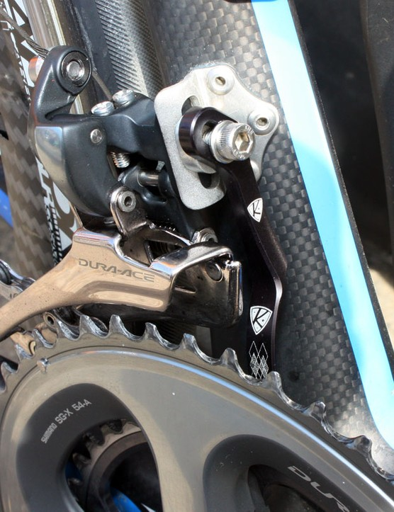 Garmin-Transitions' team mechanics report excellent performance from the latest round of AceCo K-Edge chain watchers