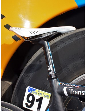 3T's new Dorico seatpost with additional setback has proven popular with their sponsored riders