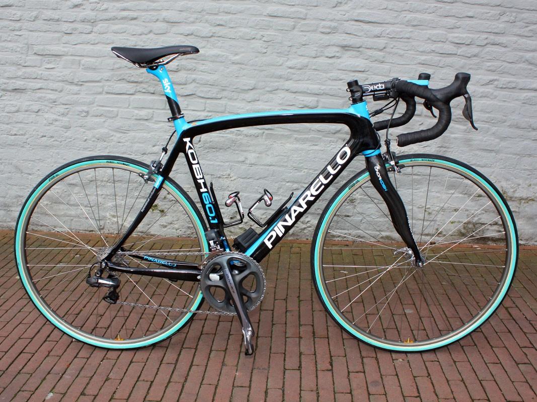 Juan Antonio Flecha (Team Sky) will make his run at Paris-Roubaix on Pinarello's brand-new KOBH 60.1.