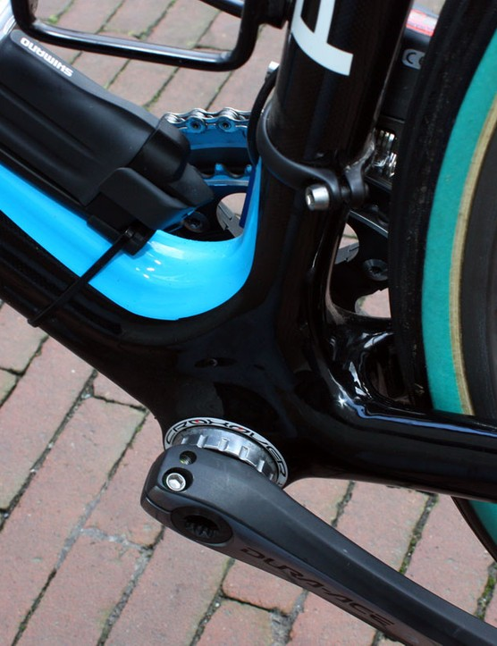The new KOBH 60.1 doesn't need to be modified to fit wider tires - it already includes clearance for 28mm rubber.