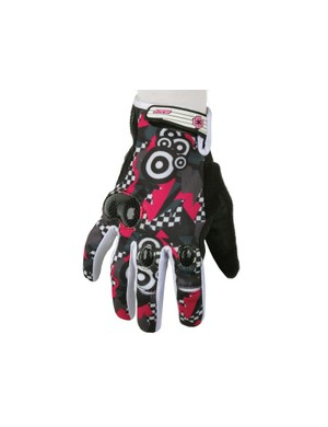Mace Caliber glove - Punk graphics