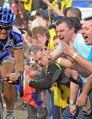 Tom Boonen has won Paris-Roubaix three times, and is one of the top favourites for Sunday