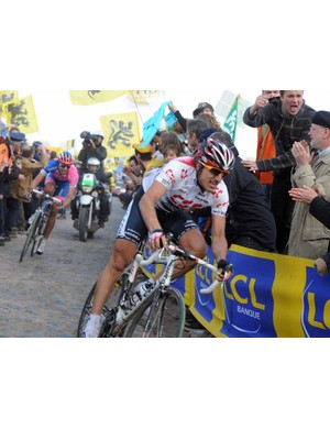Fabian Cancellara won Paris-Roubaix in 2006