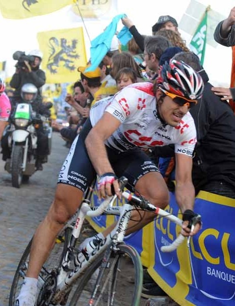Fabian Cancellara won Paris-Roubaix in 2006