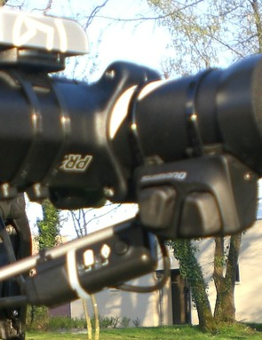 Skil-Shimano riders will benefit from the use of Di2's remote shift levers.