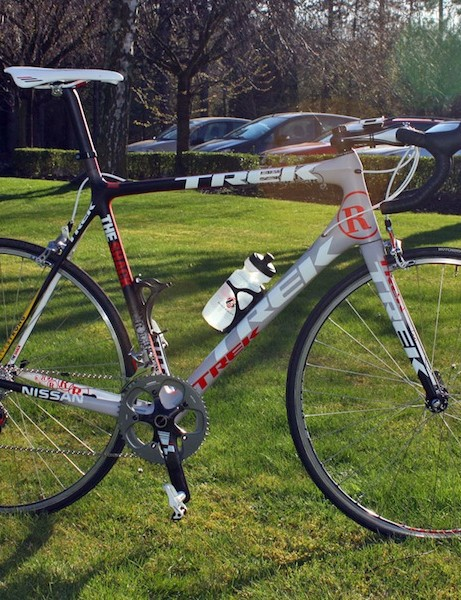 Not surprisingly, Team Radioshack's Trek Madone 6 Series embodies exactly what Devries thinks is the ideal formula for Paris-Roubaix.  But as Lance Armstrong says, it's not (only) about the bike.