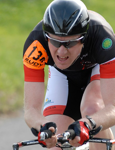 Matt Bottrill had to be content with second place