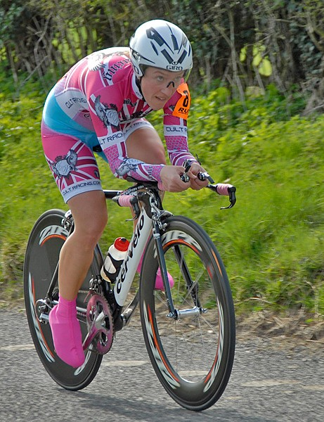 Michelle King was second in the women's race