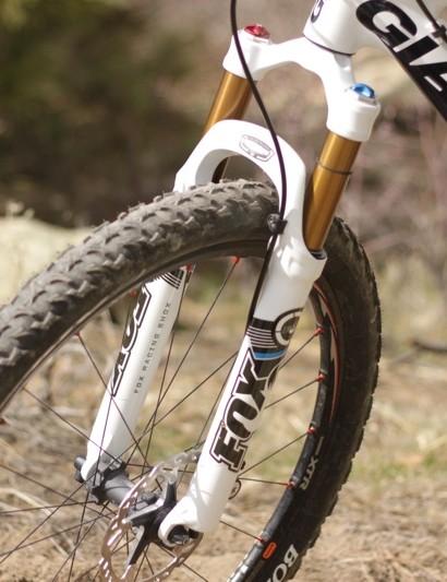 The Giant mountain bike team will use TerraLogic on its full-suspension bikes, according to Fox.