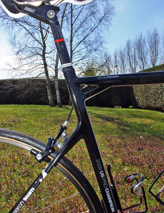 Even without any labels, this frame is distinctively a BMC.