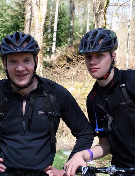 Ian Hough and Liam Brindley