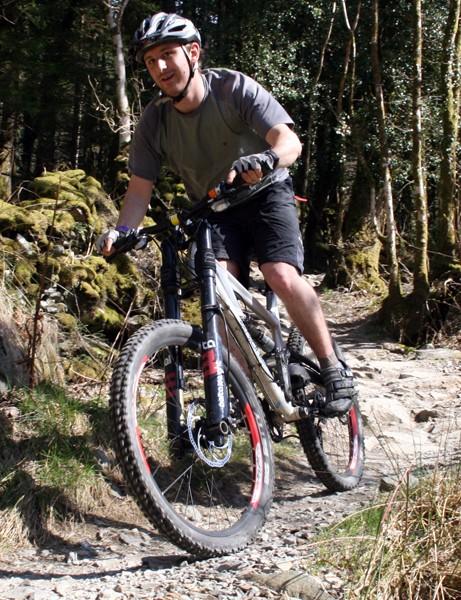 Bionicon rider enjoys