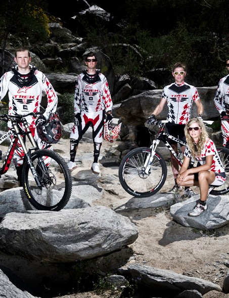 This week saw the launch of the 2010 Trek World Racing team