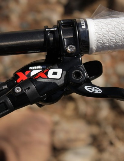 X0 brake TaperBore brake and 2x10 shifter, the new brake will replace this year's CR Mag model.