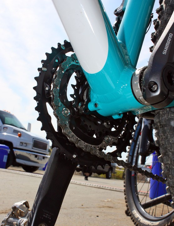 The Big Top will include ISCG tabs for riders that want to run a chain guide or bashguard - or perhaps even a Hammerschmidt?