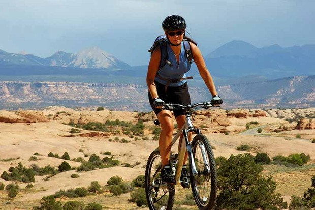A survey of US women revealed health was the number one reason they cycled