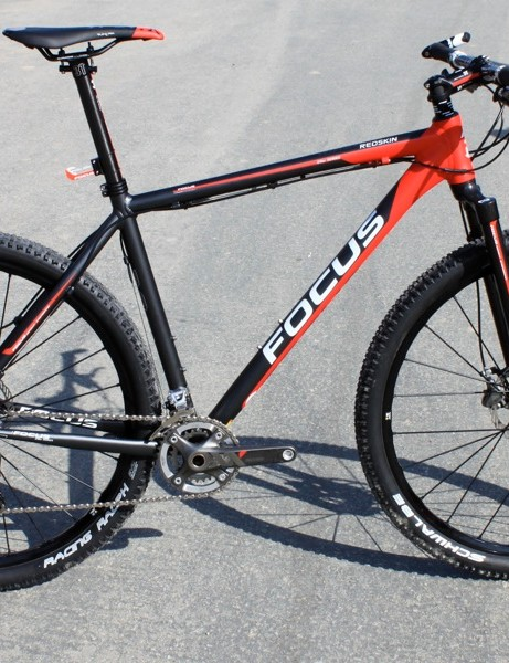 The new Focus Redskin, the German brand's first 29er.
