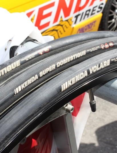 Kenda's road tubulars: Volare, Super Domestique and Domestique.