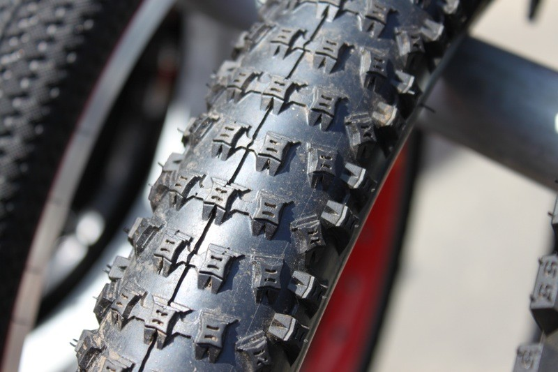 Kenda's Slant 6 is eagerly awaited by the 29er crowd, but will be available in a 26-inch model as well.