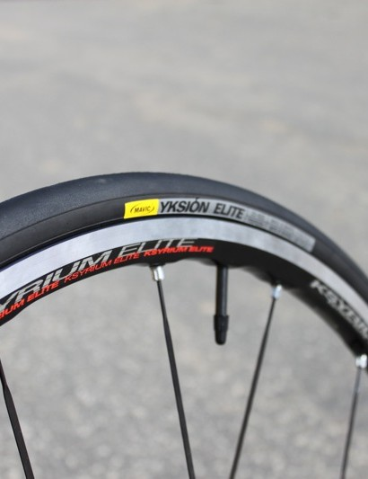 Mavic's second complementary tyre, the Yksion Elite.