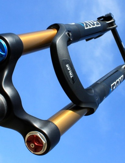 TerraLogic in a trail fork, in this case the 32 TALAS with 150mm of travel