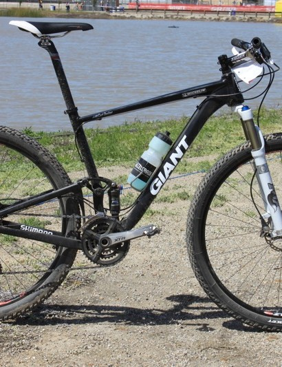 Carl Decker's prototype Giant Anthem X 29er.