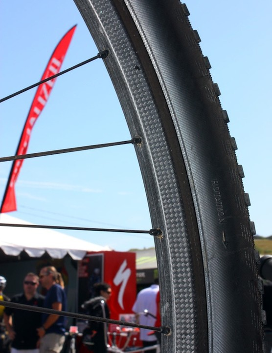 Wells' matte-finish rims look a little fresher out of the mold.