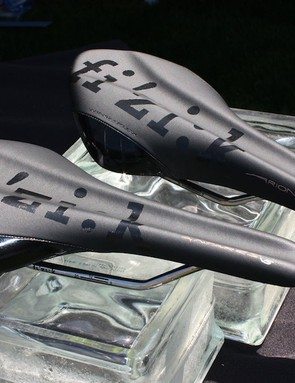 The new fi'zi:k Antares Versus and Arione Versus saddles both incorporate a wide and relatively deep full-length channel to relieve pressure on soft tissue.