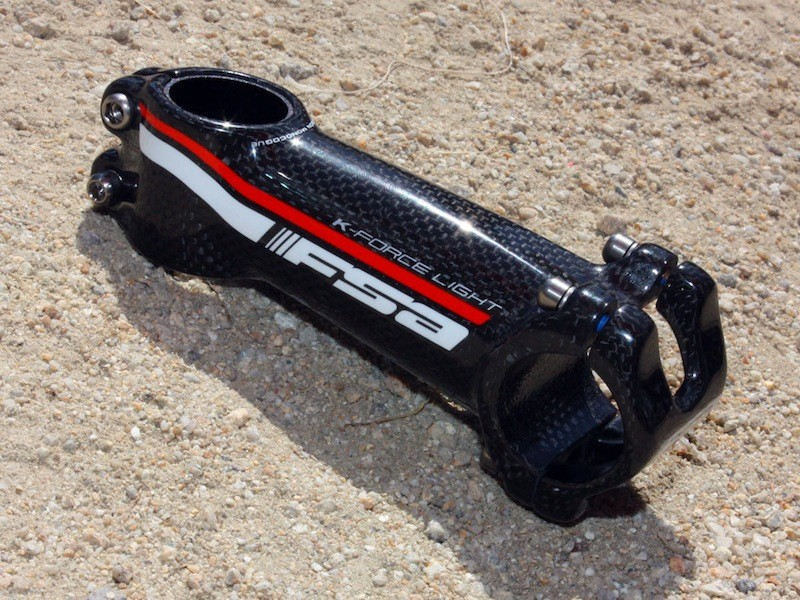 The redesigned K-Force Light stem now features a 100 percent carbon main body.
