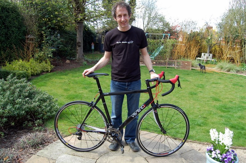 Andy with his new Verenti Millook