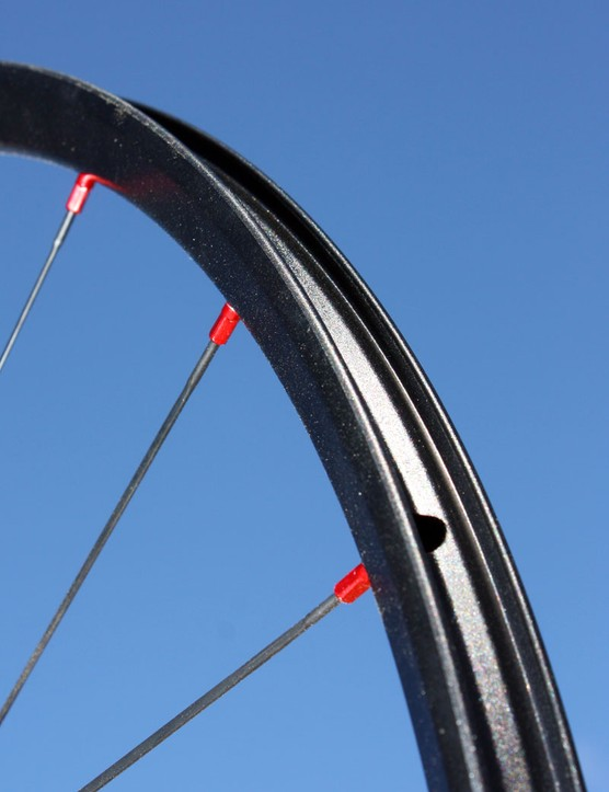 Formula is also entering the crowded mountain bike wheelset market with a scandium-alloy rim that is supposedly just over 300g.