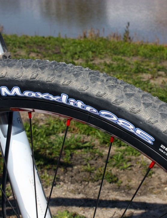 Sea Otter's non-technical course afforded use of a fast, narrow and light tire.