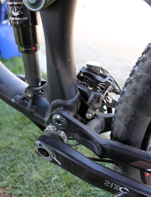 Rocky Mountain put extra effort into developing the Slayer's seat tube