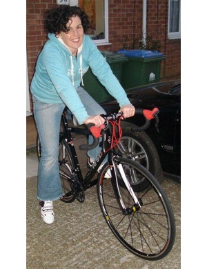 Kay with her new Verenti Millook