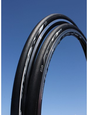 Bontrager's new top-end R4 road clincher will be offered in standard, Road Tubeless, and an Aero version with a more diamond-shaped cross-section