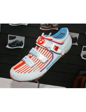 US national champions Jeremy Horgan-Kobelski and Heather Irmiger will be wearing custom versions of Bontrager's RXL mountain bike shoe