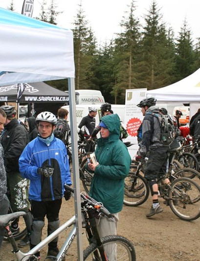 Drizzle failed to put off the crowds at our final Bike Demo Day of 2010
