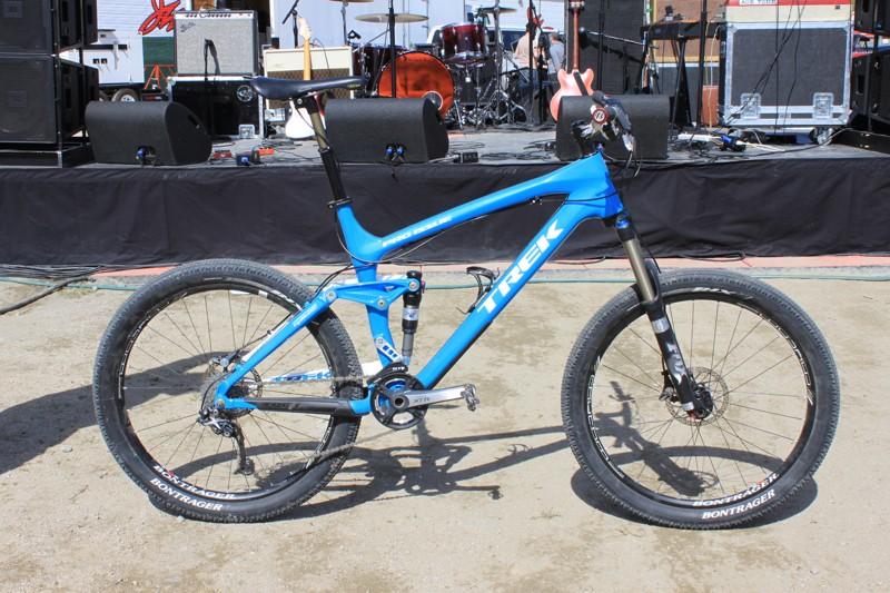 Ray Waxham's pimped out Trek Remedy 9.9 trailbike