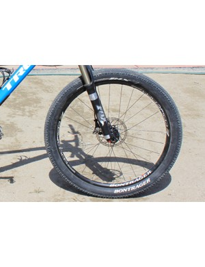 Bontrager's super high-volume XR1 2.4in tyre