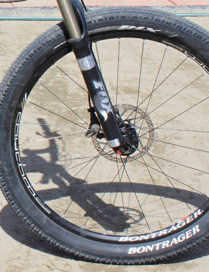 Bontrager's super high-volume XR1 2.4in tyre