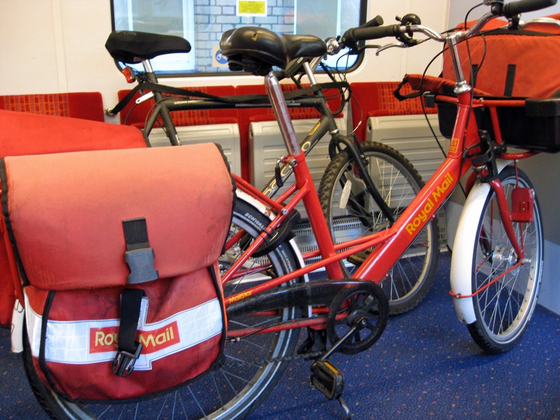 Royal Mail want to scrap postmen's bikes