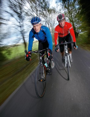 Working on your threshold pace – chatting to your mate should be nigh-on impossible – will speed up your 100 miles and make them more comfortable
