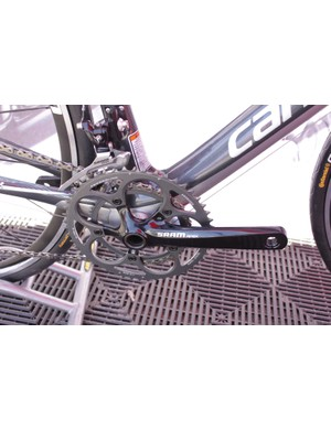 The Apex crankarms are solid forged from 6061-T6 aluminum.